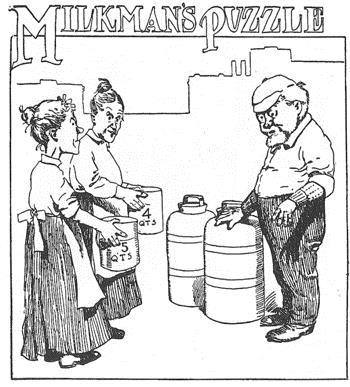 El acertijo del lechero