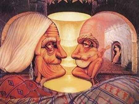 Dos ancianos o dos mejicanos