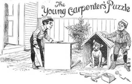 El puzzle del joven carpintero