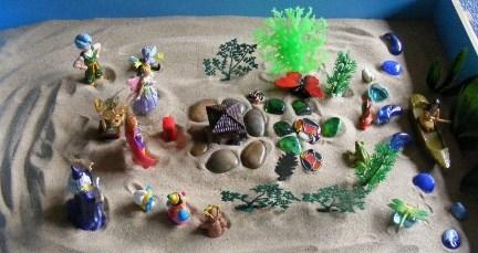 Metologia de la caja de arena Pozuelo