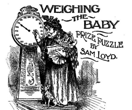 pesando al bebe