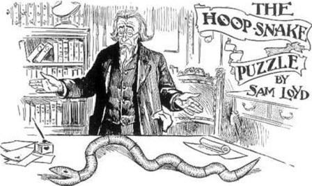Serpiente hula-hoop