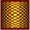 Figura plana que parece convexa