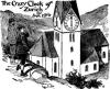 El reloj loco de Zurich