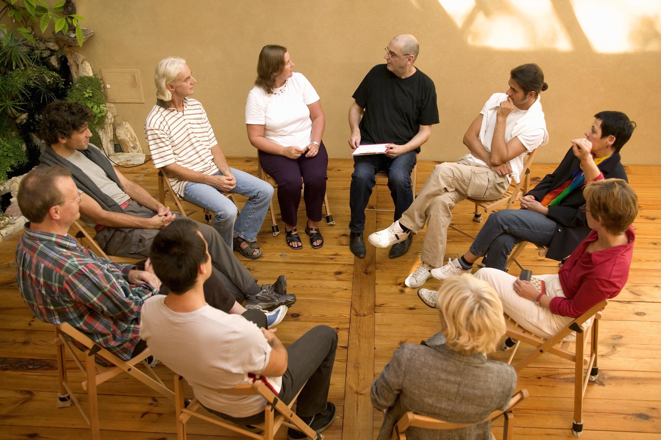 terapia grupo Las Rozas