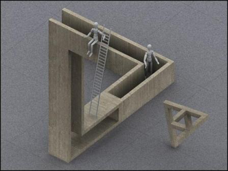 Triángulo imposible
